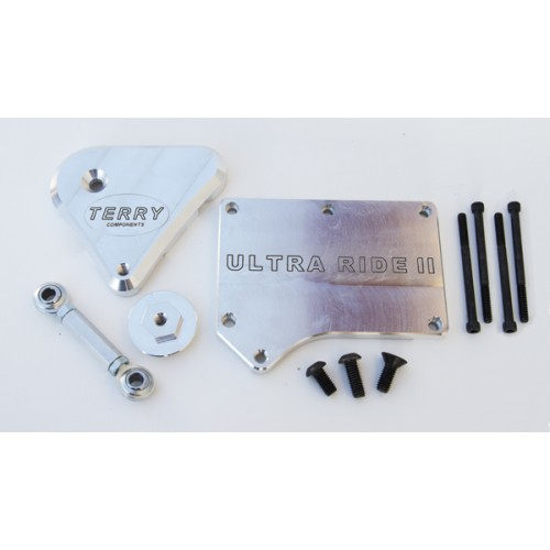 Ultra Ride Stabilizing System Brushed Aluminum Silver 93-08